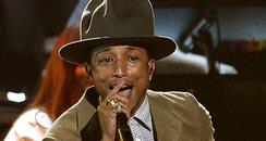 Pharrell BRIT Awards 2014 Performances
