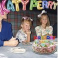katy perry as a chid at a birthday party