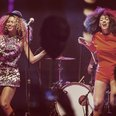Beyonce And Solange Knowles Coachella 2014