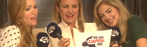 Cameron Diaz Covers #SELFIE On Capital Breakfast