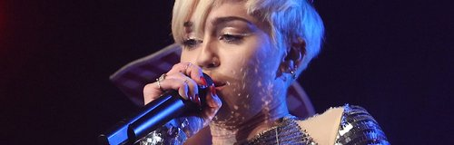 Miley Cyrus GAY London show