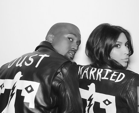Kim Kardashian and Kanye West Wedding 2014