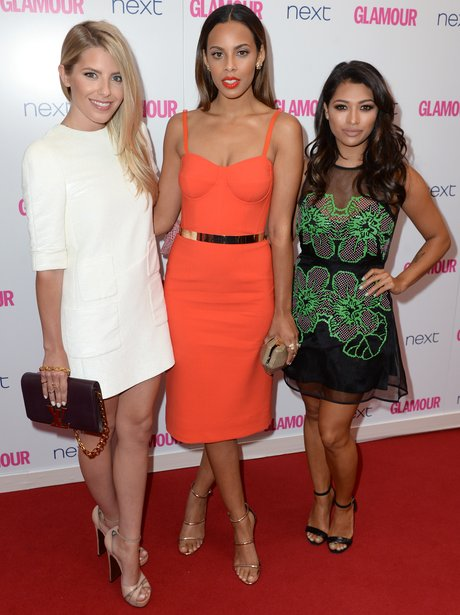 The Saturdays Glamour Women Of The Year Awards 201