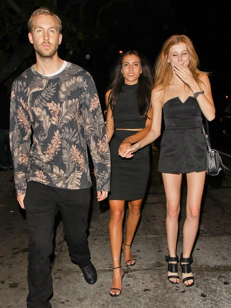 Calvin Harris on a night out