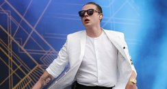 John Newman performs live at Isle Of Wight Festiva