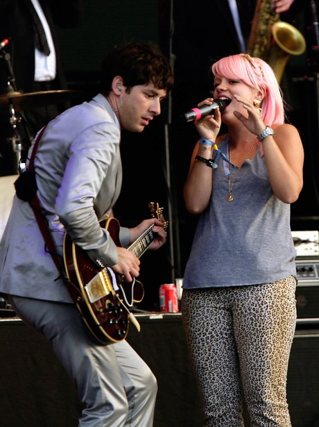 Lily Allen and Marc Ronson  2008