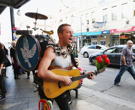 Coldplay Shoot 'A Sky Full Of Stars' Video In Sydn