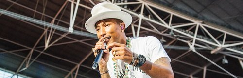 Pharrell Williams at the Summertime Ball