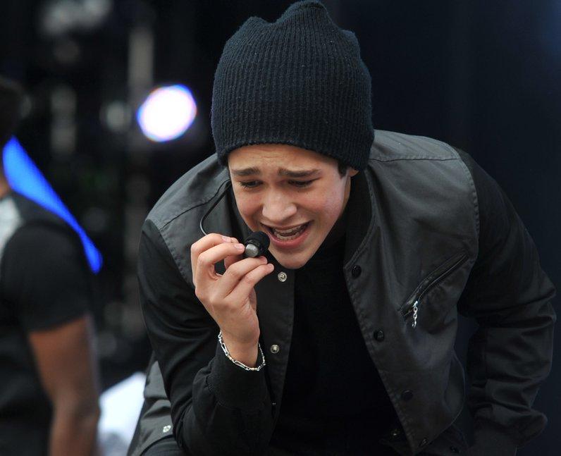 Austin Mahone Live At North East Live 2014