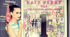 Katy Perry RIAA award