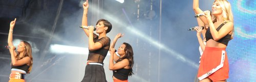 The Saturdays Live at North East Live 2014