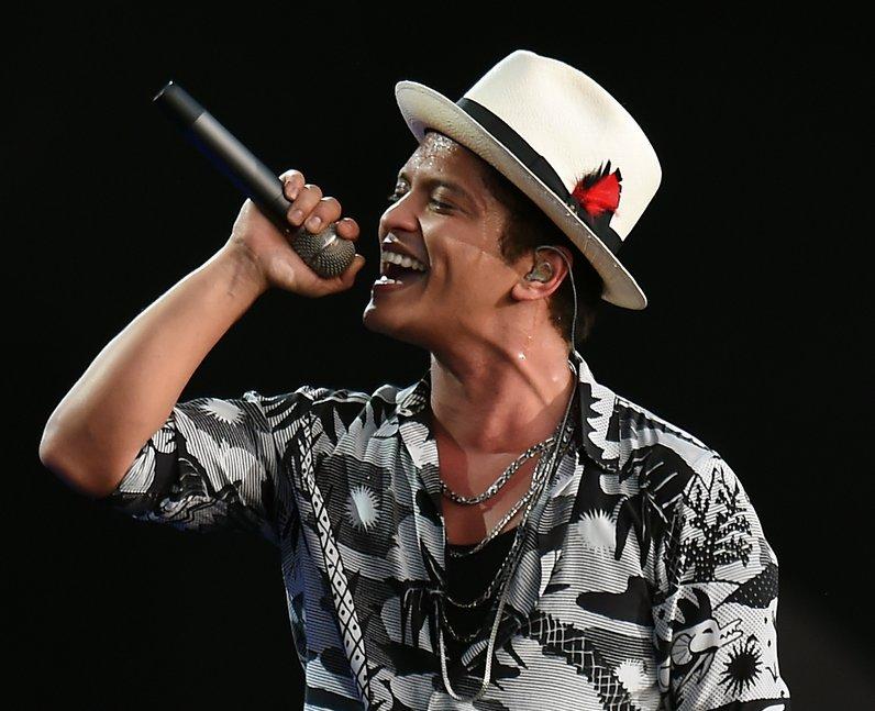 Bruno Mars at Wireless Festival 2014
