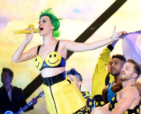 Katy Perry on tour in New York