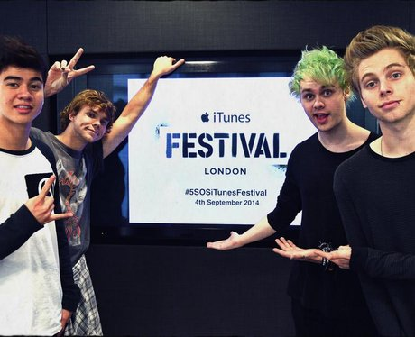 5SOS confirm their appearance at the iTunes Festiv