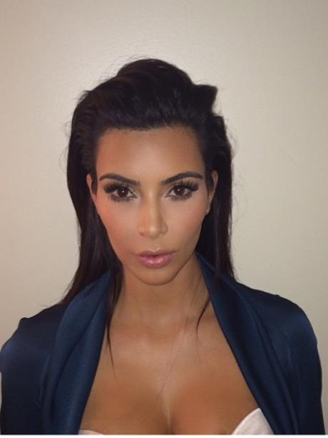 Kim Kardashian Passport Picture