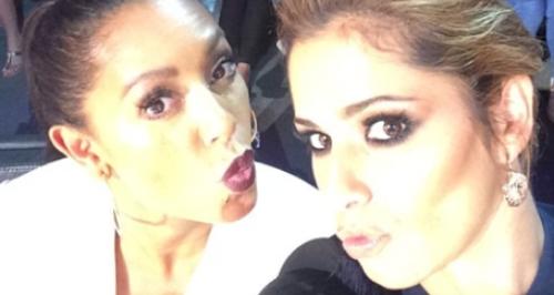 Mel B and Cheryl