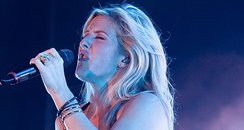 Ellie Goulding performing in Hong Kong