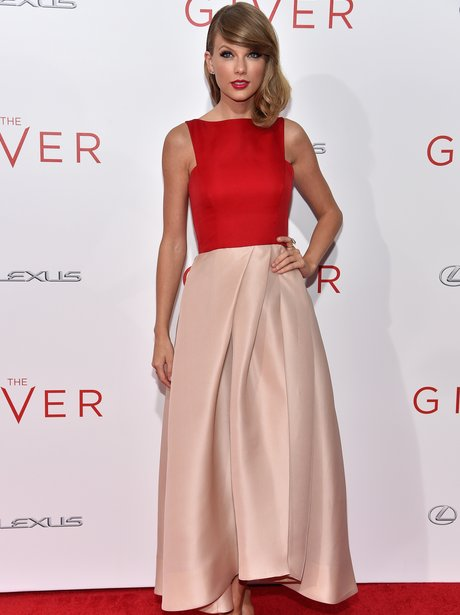 Taylor Swift 'The Giver' Premiere