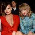 Jordin Sparks, Demi Lovato and Taylor Swift at the