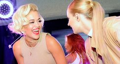 Rita Ora and Iggy Azalea Calvin Klein Event