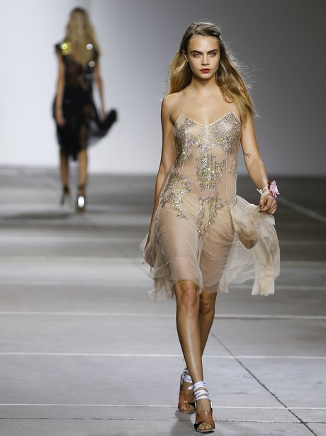 Cara Delevingne Fashion London