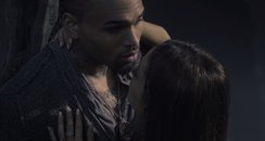 Chris Brown Ariana Grande 'Don't Be Gone Too Long'