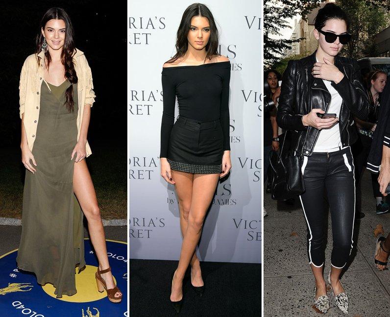 Kendall Jenner Fashion Week 2014