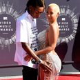 Wiz Khalifa Amber Rose VMAs 2014