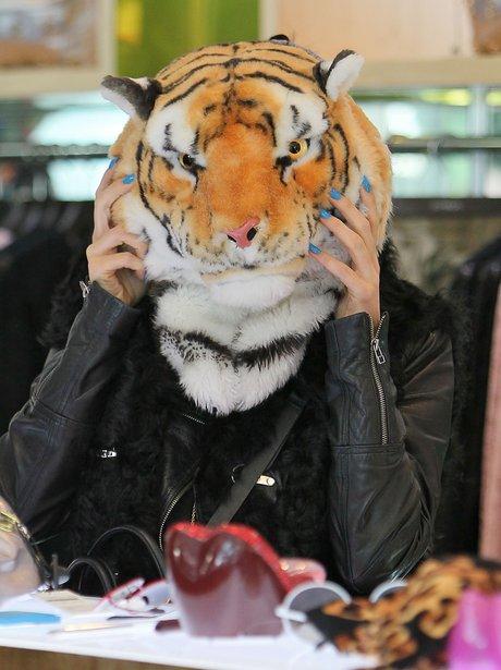 Jessie J Lion's Head Disguise
