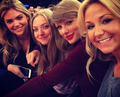 Taylor Swift at the Knicks game