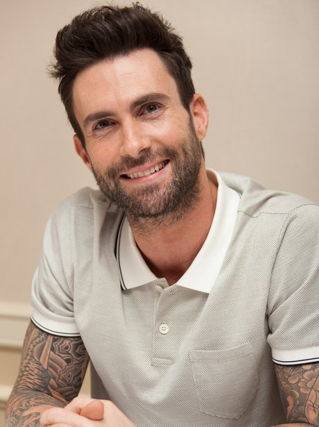 Adam Levine Promotes Begin Again - Los Angeles