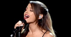 Ariana Grande performs onstage at American Music A