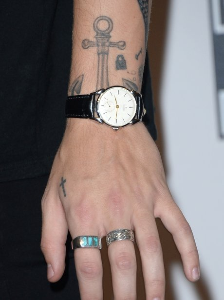 2015 One Direction Harry Styles Tattoos
