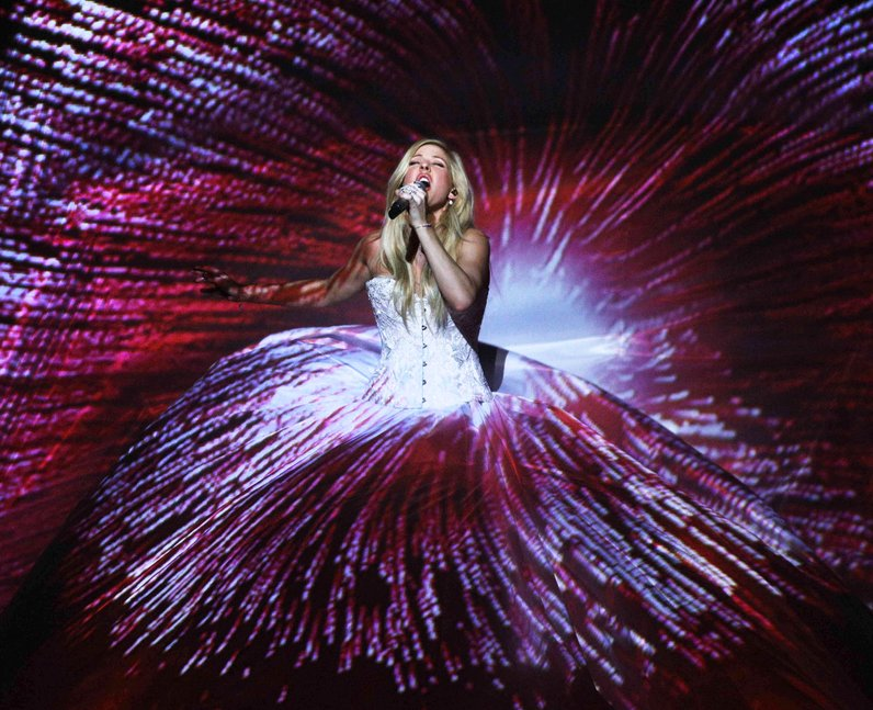 Ellie Goulding Royal Variety Performance 2014