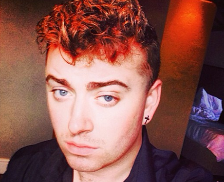 Sam Smith with curly hair
