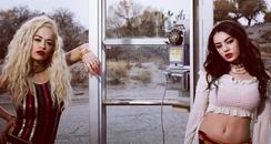 Charli XCX and Rita Ora