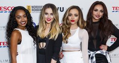 Little Mix wearing monochrome outfits