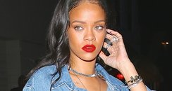 Rihanna Double Denim
