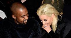 Kim Kardashian Blonde Hair and Kanye West