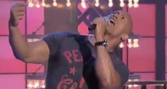 Dwayne Johnson Taylor Swift Lip-Sync