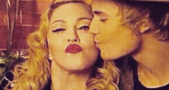 Madonna and Justin Bieber