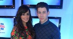 Nick Jonas With Max On Capital