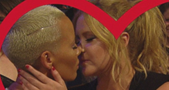 Amber Rose and Amy Schumer Kiss Cam MTV Movie Awar