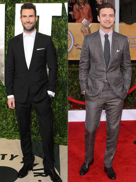 Fashion Face Off: Justin Timberake V. Adam Levine