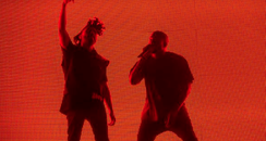 Kanye West The Weeknd Coachella