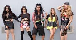 Fifth Harmony posing