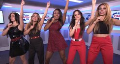 Fifth Harmony dancing backstage at Capital's Summe