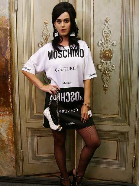 Katy Perry wearing Moschino