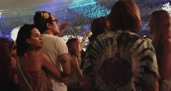 Katy Perry and John Mayer spotted at Concert