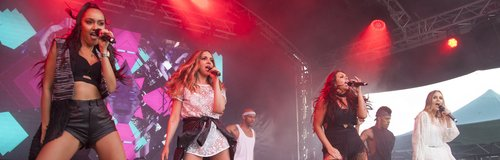 Little Mix live at Thorpe Park Resort #IslandBeats